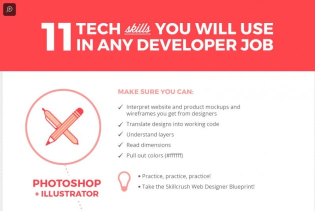 11 Essential Tech Skills You Need to Get Hired as a Web Developer