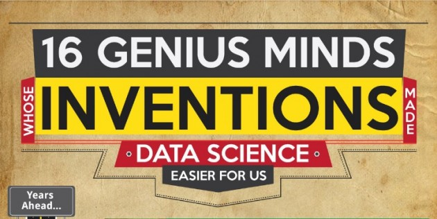 Infographic  16 Genius Minds Whose Inventions Made Data Science Easier For Us