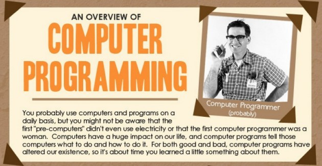The History Of Computer Programming   Visual.ly
