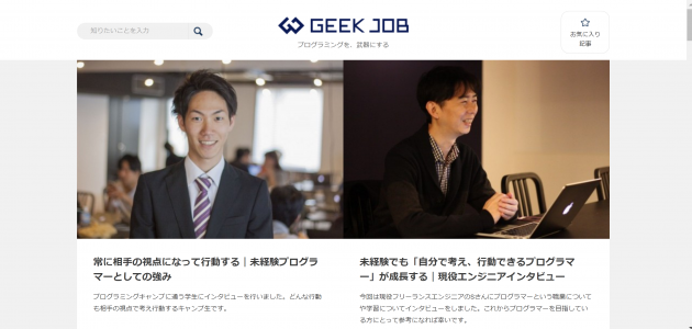 GEEK JOB_webdesign
