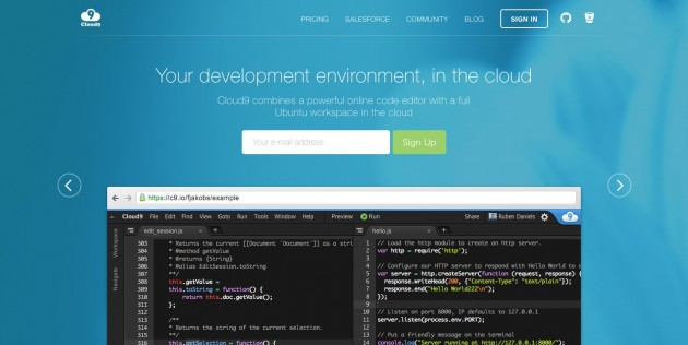 Cloud9 Your development environment in the cloud e1462687136224 - 初心者のあなたが今すぐプログラミングを始めるべき4つの理由
